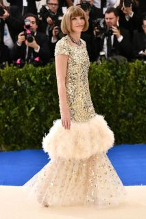 Anna Wintour in a Chanel