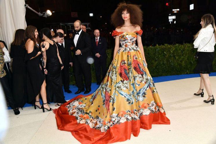 Zendaya in Dolce & Gabbana Couture