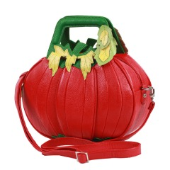 Pumpkin-Braccialini-Handbags-Fashion-Genuine-Leather-Shoulder-Bags-Red-Fashion-Designer-Brand-One-Shoulder-Bags-Women
