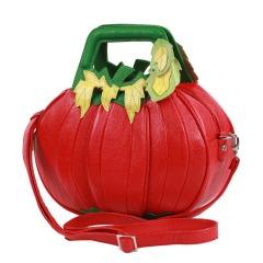 Pumpkin-Braccialini-Handbags-Fashion-Genuine-Leather-Shoulder-Bags-Red-Fashion-Designer-Brand-One-Shoulder-Bags-Women