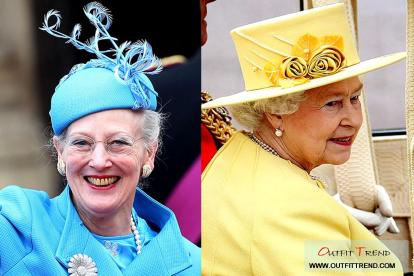 Queen-Elizebath-and-Queen-Marrgrethe-Royal-Wedding-Hat