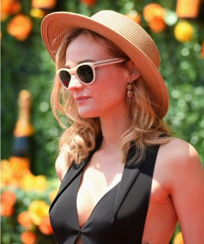 JERSEY CITY, NJ - MAY 30: Actress Diane Kruger attends the 8th Annual Veuve Clicquot Polo Classic at Liberty State Park on May 30, 2015 in Jersey City, New Jersey. (Photo by Andrew Toth/FilmMagic)
