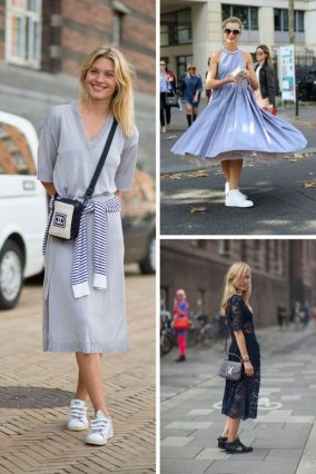 Dresses-With-Sneakers-To-Try-This-Summer-2018-9-700x1050