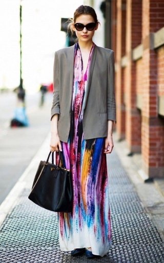 Maxi-Dress-With-Blazer